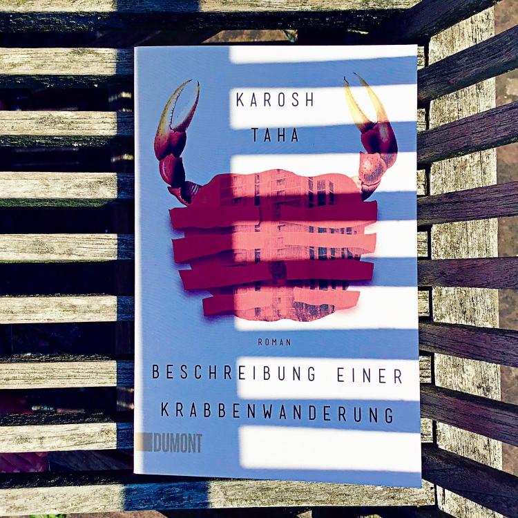 Karosh Taha Beschreibung einer Krabbenwanderung cover